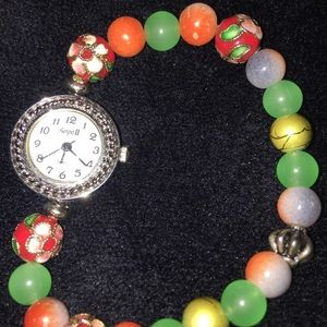 Unique, Classy Multi Color'd Wrist Watch
